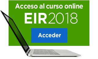 Acceso al curso online EIR